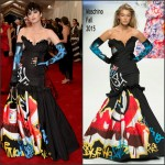 Katy Perry In Moschino  at 2015 Met Gala