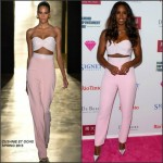 Kelly Rowland in Cushnie et Ochs at the Diamond Empowerment Fund Celebration