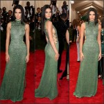 Kendall Jenner in Calvin Klein Collection at the 2015 Met Gala