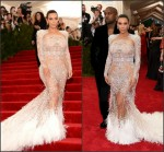 Kim Kardashian In Roberto Cavalli  at the  2015 Met Gala
