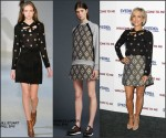 Kristen Wiig in Jill Stuart & Markus Lupfer at the 'Welcome To Me' NY Premiere