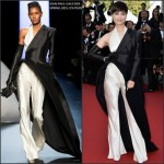 Li Yuchun In Jean Paul Gaultier Couture at 'The Little Prince' Cannes Film Festival Premiere