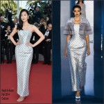 Liu Wen in  Ralph & Russo  'The Little Prince' Cannes Film Festival Premiere