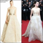 Mackenzie Foy in Oscar de la Renta at 'The Little Prince' 68th Cannes Film Festival  Premiere
