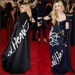 Madonna  in  Moschino   at the 2015 Met Gala