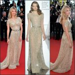 Mélanie Laurent In Zuhair Murad Couture  at  'Inside Out' Cannes Film Festival Premiere