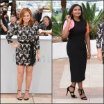 Mindy Kaling & Amy Poehler  at 'Inside Out' Cannes Photocalls