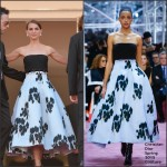 Natalie Portman In Christian Dior Couture  at  'A Tale Of Love And Darkness' Cannes Film Festival Premiere
