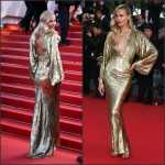 Natasha Poly In Michael Kors at  'The Sea Of Trees' Cannes Film Festival Premiere