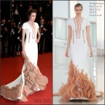 Nieves Alvarez In Stéphane Rolland Couture  at the  'Shan He Gu Ren' Cannes Film Festival Premiere