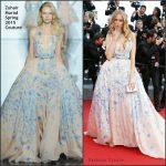 Petra Nemcova In Zuhair Murad Couture  at 'Sicario' Cannes Film Festival Premiere