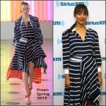 Rashida Jones In Preen at  SiriusXM Studios