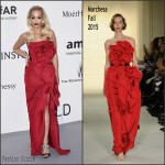 Rita Ora In Marchesa  at 2015 amfAR Cinema Against AIDS Gala