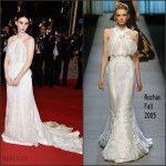 Rooney Mara In Olivier Theyskens for Rochas at 'Carol' Cannes Film Festival Premiere