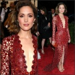 Rose Byrne  in Calvin Klein Collection –  2015 Met Gala