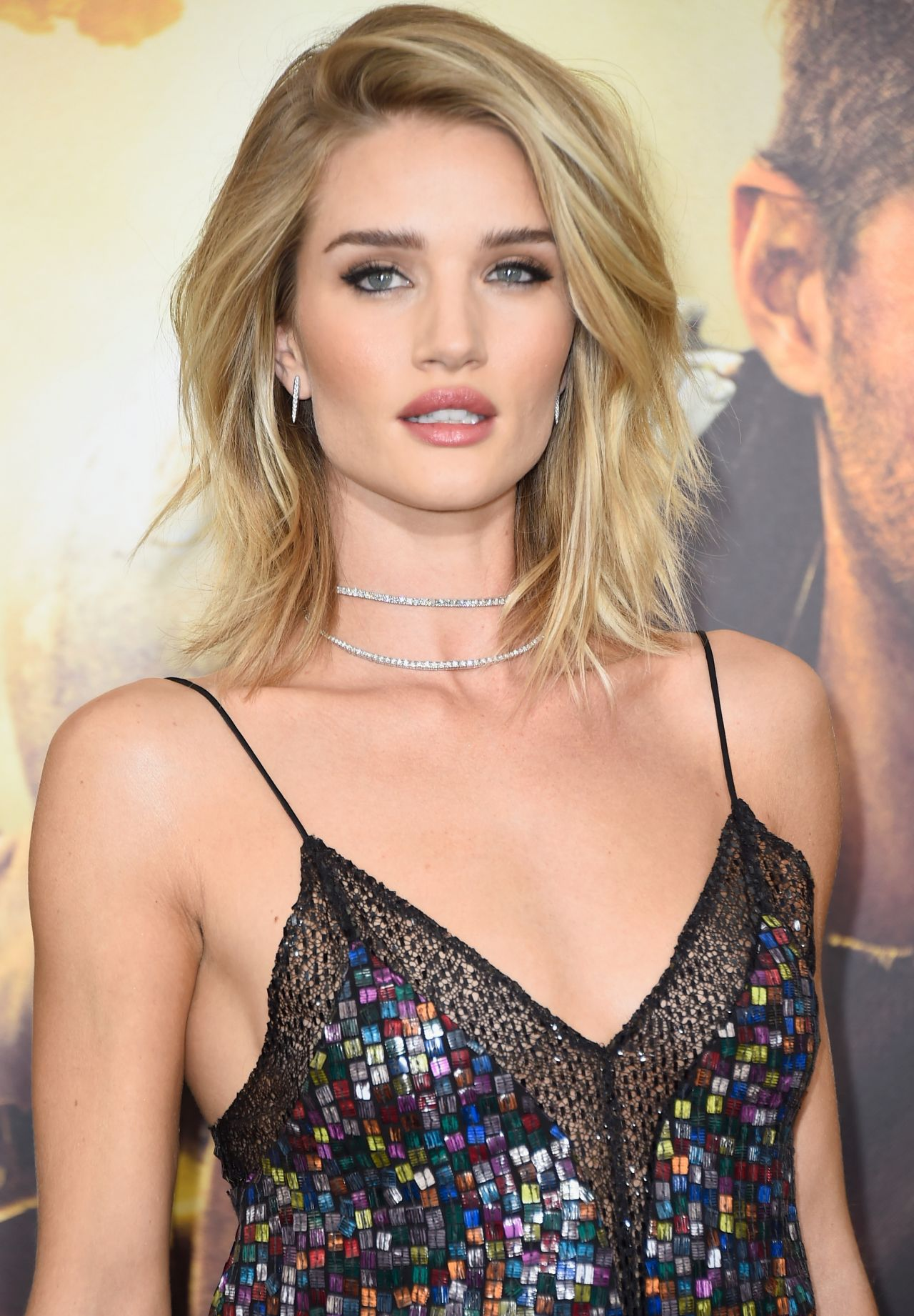 Rosie Huntington Whiteley In Rodarte At The Mad Max Fury