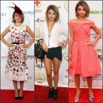 Sarah Hyland at the 141st Kentucky Derby