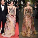 Shu Qi In Elie Saab – ' 'La Glace Et Le Ciel' Cannes Film Festival Premiere & Closing Ceremony