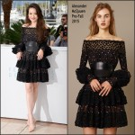 Shu Qi In Alexander McQueen  at 'Nie Yinniang' Cannes Film Festival Photocall