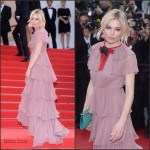 Sienna  Miller in  Gucci at Macbeth Premiere  Cannes Film Festival