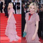 Sienna  Miller in  Gucci at Macbeth Premiere  Cannes Film Festival