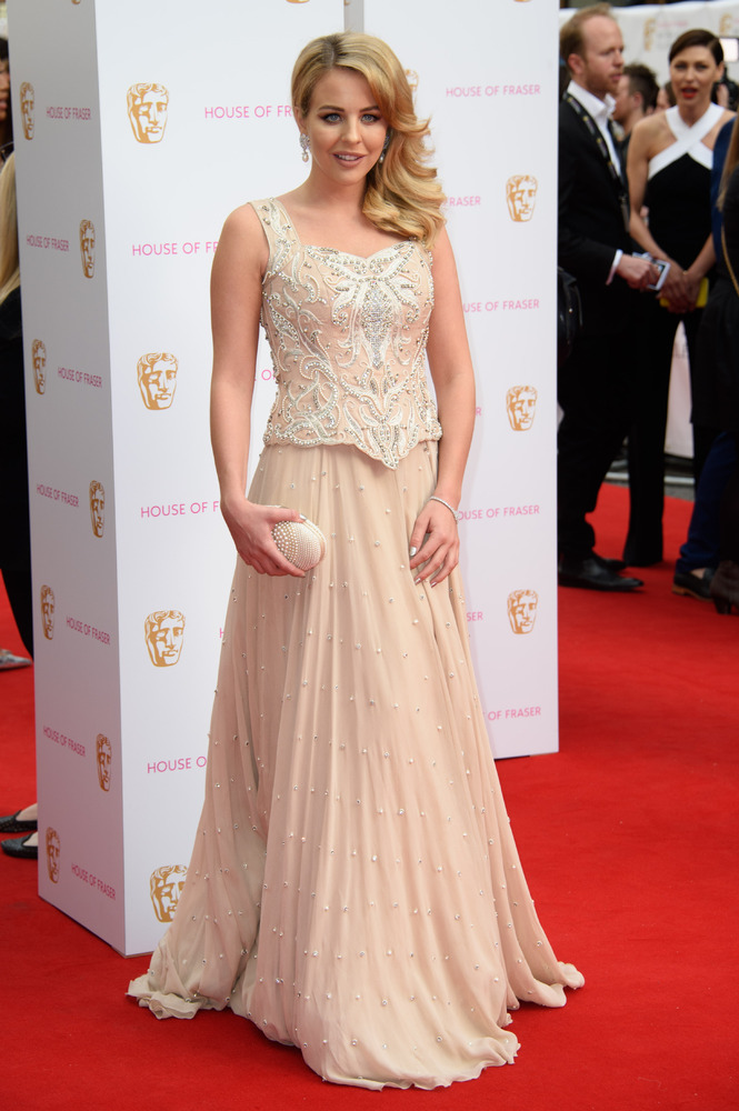 Lydia- Bright -in -Khubsoorat- Collection-bafta-tv-awards-2015