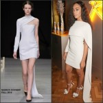 Solange Knowles in Marios Schwab at The Launch of Veuve Clicquot Rich