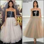 Thandie Newton In Monique Lhuillier  at the  'Mad Max: Fury Road' LA Premiere