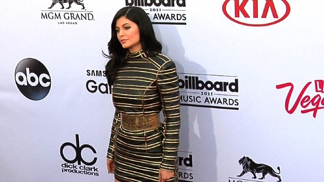 Kylie Jenner In Balmain at 2015 Billboard Music Awards