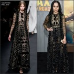 Zoe Kravitz In Valentino at  'Mad Max: Fury Road' LA Premiere