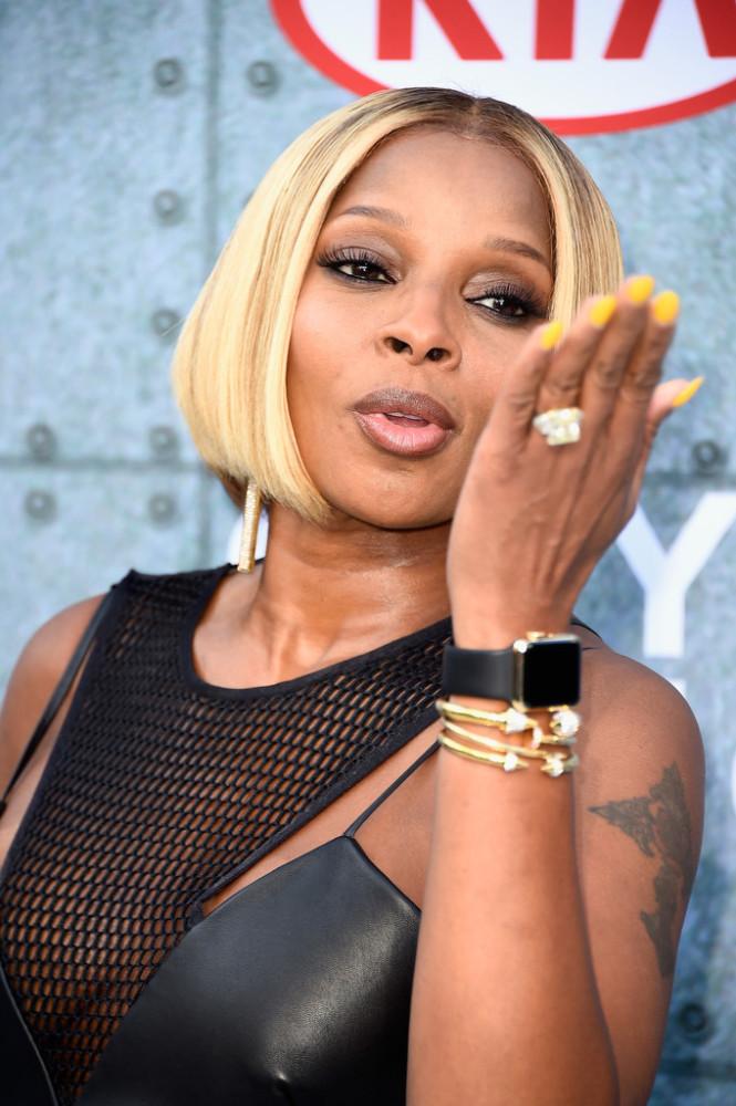 Mary-J-Bliges-Spike-TV-Guys-Choice-Awards-KLS-Kimora-Lee-Simmons-Mesh-and-Leather-Karina-Dress-