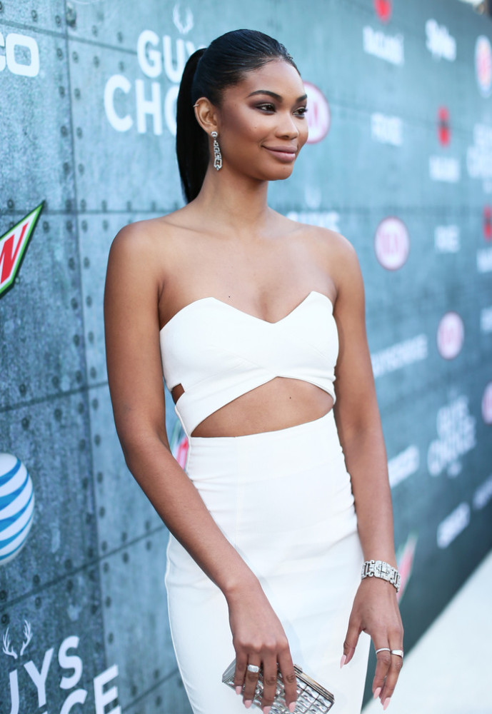 -Chanel-Iman-Spike-TV-Guys-Choice-Awards-Solace-London-Strapless-Cut-Out-Dress-