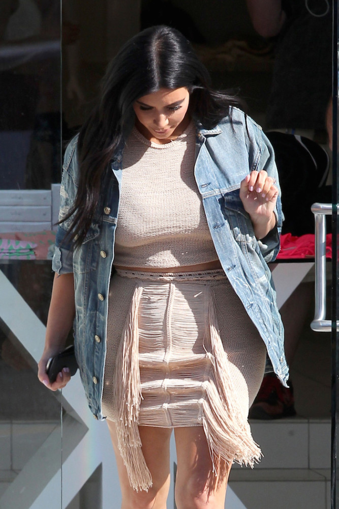 Kim -Kardashian- seen- at- DASH -store -in- West -Hollywood-june-16-2015