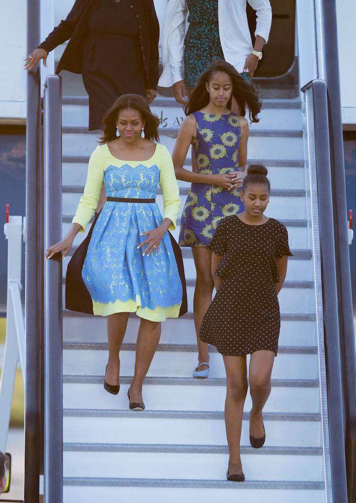 michele obama's college thesis