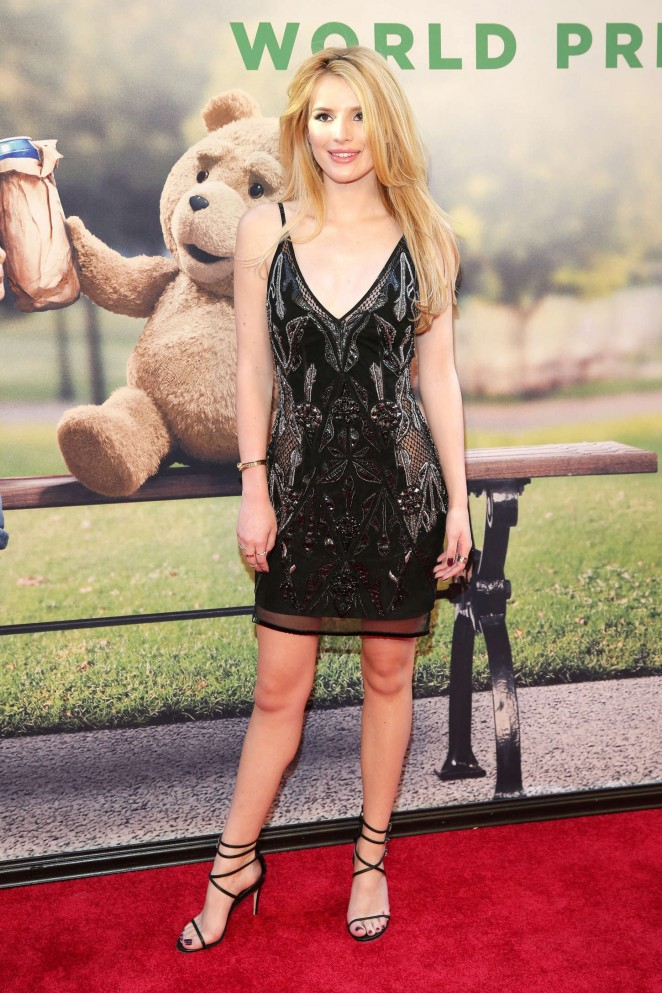 Bella-Thorne- in- Julien -Macdonald -Ted-2-NY-Premiere-