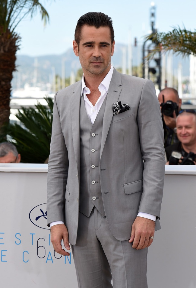 Colin-Farrell-Grey-Dolce-Gabbana-Suit-cannes