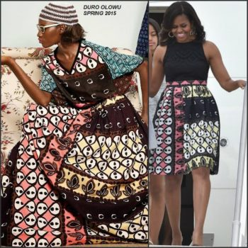 FLOTUS-michelle-obama-in-duro-olowo-visiting-italy