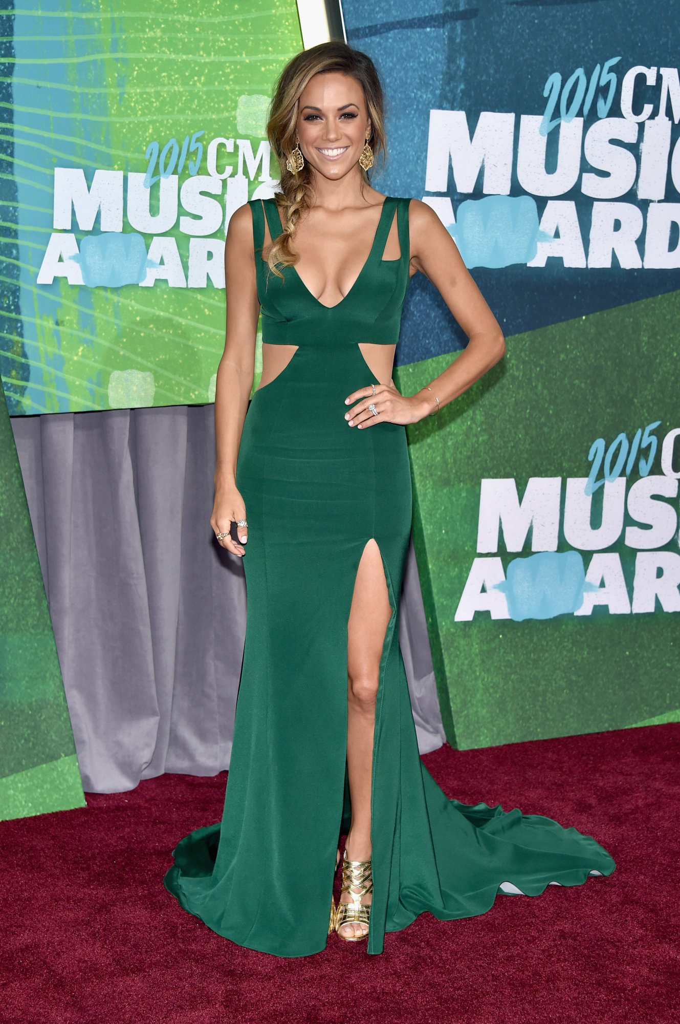 Jana -Kramer - 2015-CMT-Music-Awards-