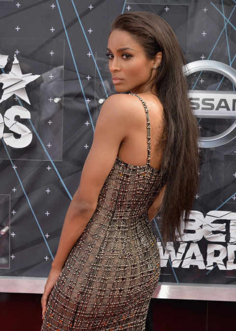Ciara -in -Wes- Gordon - 2015 -BET -Awards