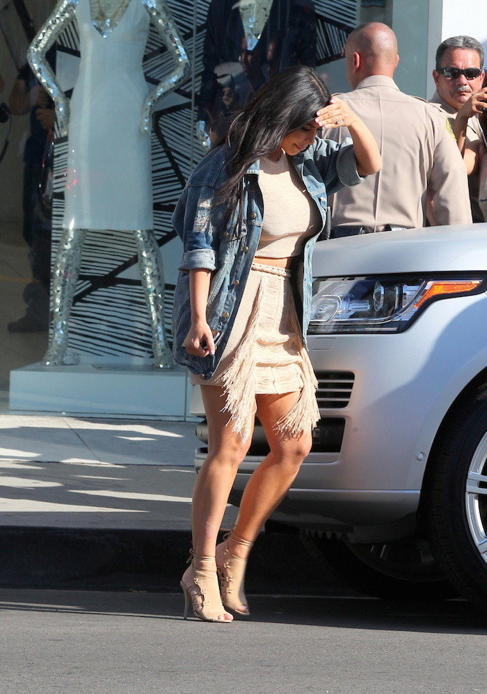 Kim -Kardashian- seen- at- DASH -store -in- West -Hollywood