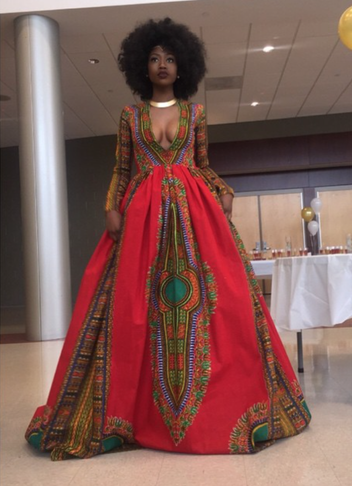 High School Student Kyemah Mcentyre Stuns In African