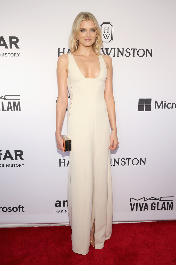 Lily -Donaldson- At -2015- amfAR- Inspiration- Gala -in -New -York 1