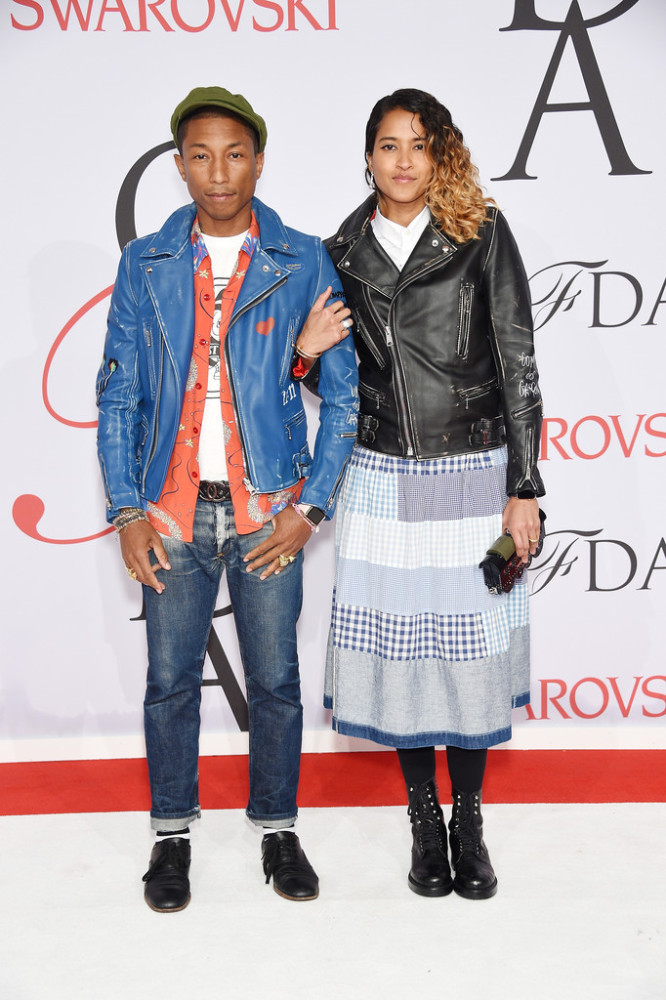 Pharrell-Williams-Helen-Lasichanh-2015-CFDA-Fashion-Awards-Inside-Arrivals-