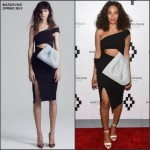 Solange Knowles In Maticevski  at Moet Nectar Imperial Rose x Marcelo Burlon Launch Event