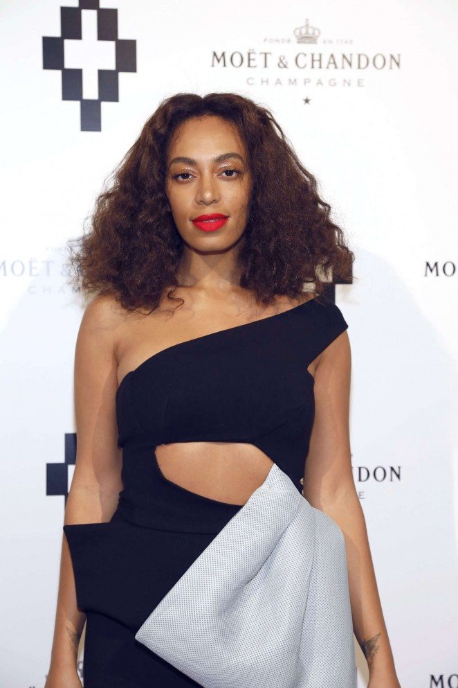 Solange Knowles In Maticevski