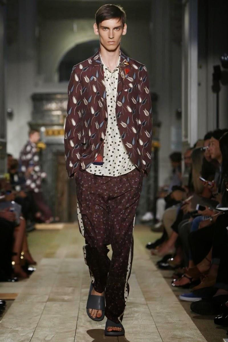 Valentino Men Spring Summer 2015 Paris Fashion Week
