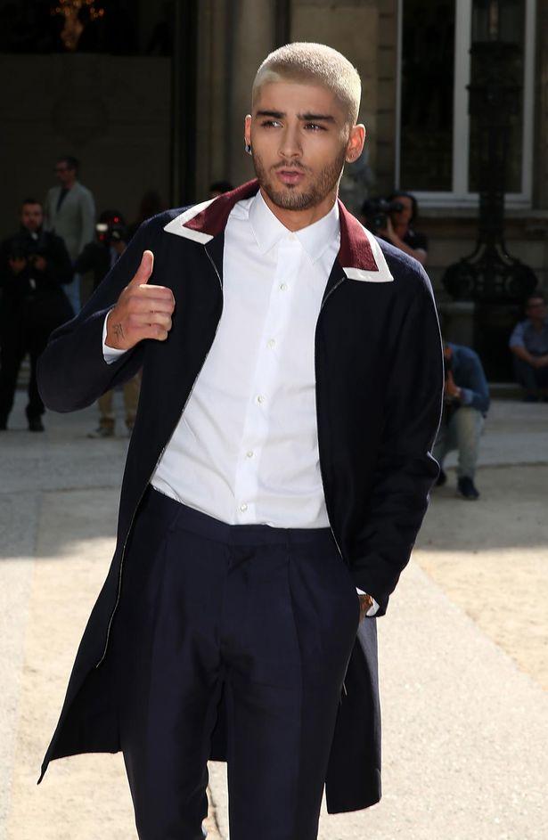 Zayn-Malik-valentino--Spring-Summer 2016- show- during- Paris- mens- fashion
