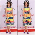 Abigail Spencer in Novis  at the 2015 CFDA Fashion Awards