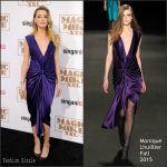 Amber Heard In Monique Lhuillier at 'Magic Mike XXL' LA Premiere