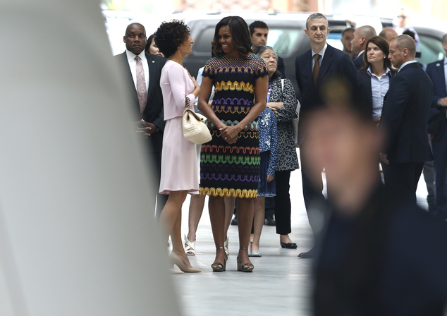 Italy Michelle Obama
